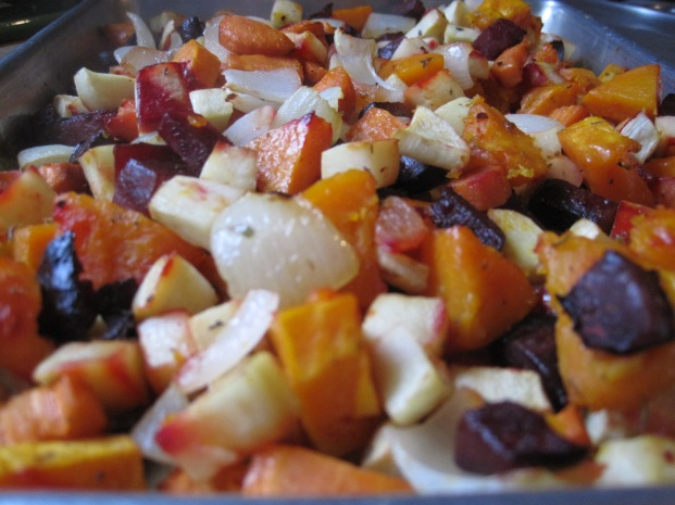 roasted ranch-style root veggies